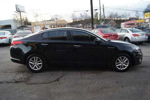 2013 Kia Optima for sale at Green Ride Inc in Nashville TN
