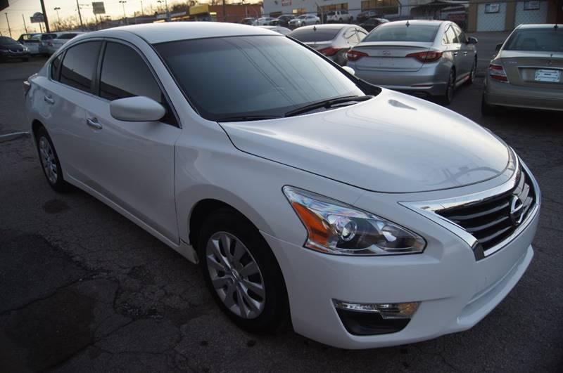 2015 Nissan Altima for sale at Green Ride Inc in Nashville TN