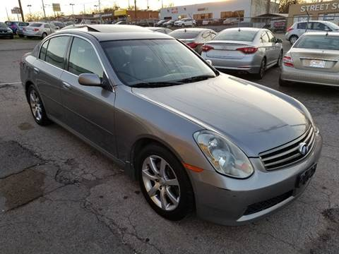 2005 Infiniti G35 for sale at Green Ride Inc in Nashville TN