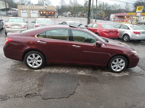 2008 Lexus ES 350 for sale at Green Ride Inc in Nashville TN