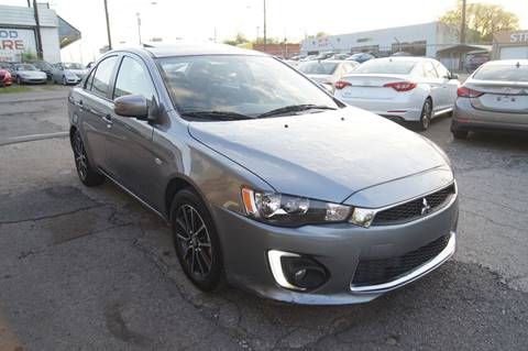 2017 Mitsubishi Lancer for sale at Green Ride Inc in Nashville TN