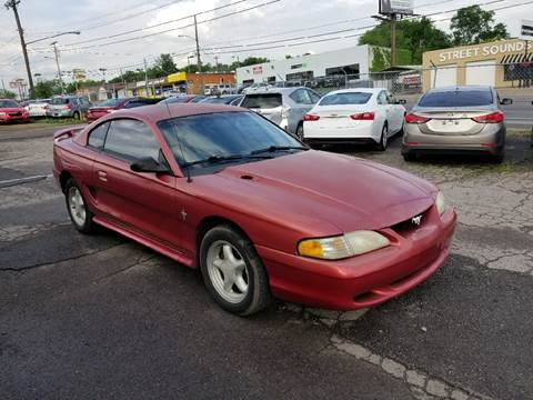 1998 Ford Mustang for sale at Green Ride Inc in Nashville TN