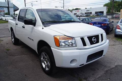 2009 Nissan Titan for sale at Green Ride Inc in Nashville TN