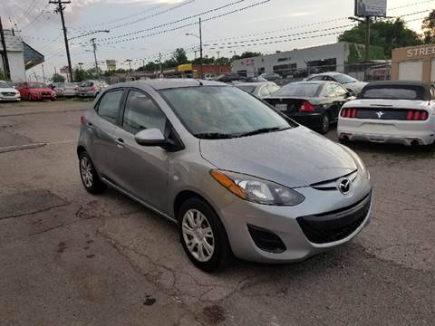 2012 Mazda MAZDA2 for sale at Green Ride Inc in Nashville TN