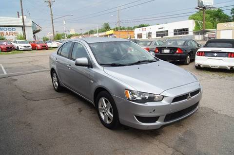 2009 Mitsubishi Lancer for sale at Green Ride Inc in Nashville TN