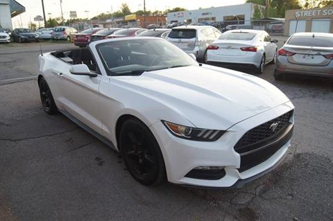 2015 Ford Mustang for sale at Green Ride Inc in Nashville TN