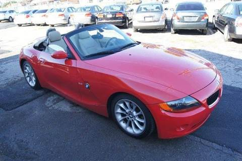 2004 BMW Z4 for sale at Green Ride Inc in Nashville TN
