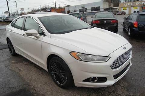 2014 Ford Fusion for sale at Green Ride Inc in Nashville TN