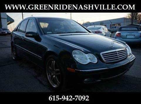 2005 Mercedes-Benz C-Class for sale at Green Ride Inc in Nashville TN