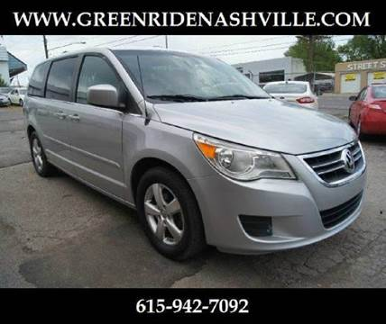 2009 Volkswagen Routan for sale at Green Ride Inc in Nashville TN