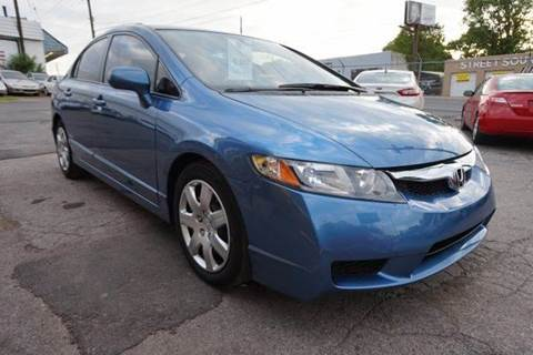 2011 Honda Civic for sale at Green Ride Inc in Nashville TN