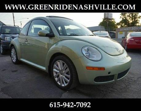 2008 Volkswagen New Beetle for sale at Green Ride Inc in Nashville TN