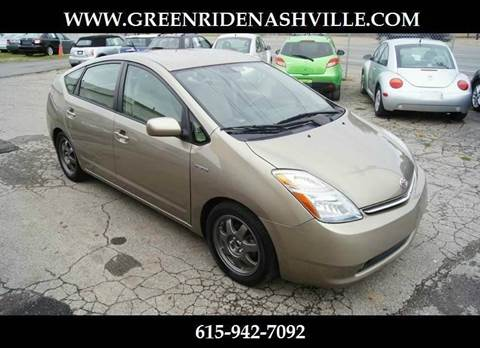 2008 Toyota Prius for sale at Green Ride Inc in Nashville TN