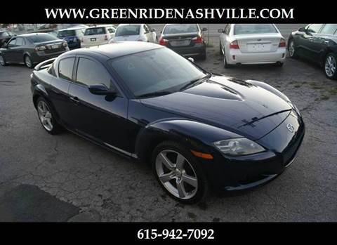 2008 Mazda RX-8 for sale at Green Ride Inc in Nashville TN