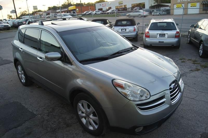 2006 Subaru B9 Tribeca Awd 5 Passenger 4dr Suv Wgray Int In