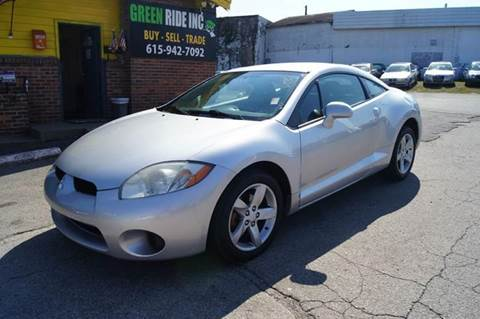 2008 Mitsubishi Eclipse for sale at Green Ride Inc in Nashville TN