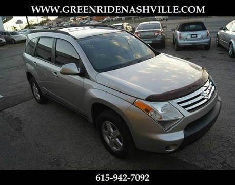 2007 Suzuki XL7 for sale at Green Ride Inc in Nashville TN