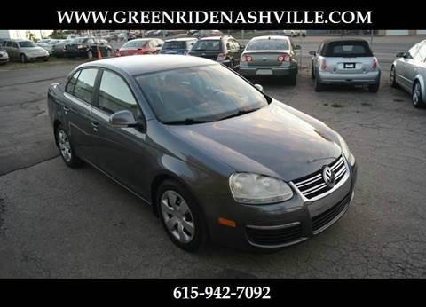 2008 Volkswagen Jetta for sale at Green Ride Inc in Nashville TN