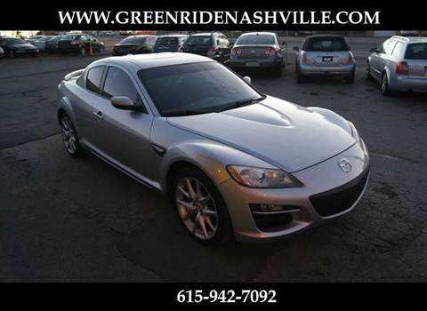2009 Mazda RX-8 for sale at Green Ride Inc in Nashville TN