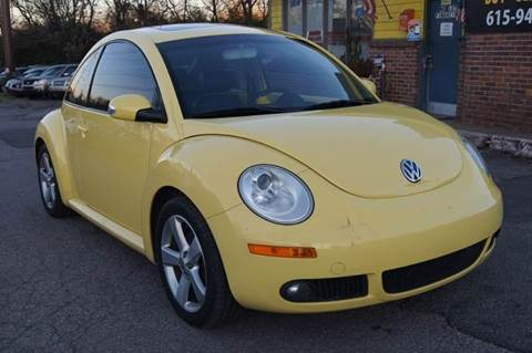 2006 Volkswagen New Beetle for sale at Green Ride Inc in Nashville TN