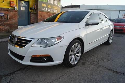 2010 Volkswagen CC for sale at Green Ride Inc in Nashville TN