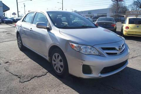 2011 Toyota Corolla for sale at Green Ride Inc in Nashville TN