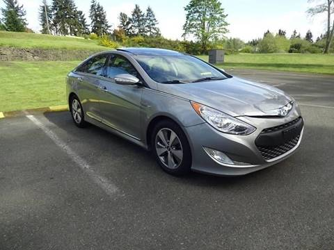 2012 Hyundai Sonata Hybrid for sale at Green Ride Inc in Nashville TN