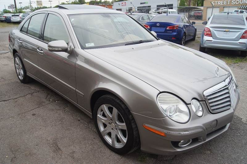 2008 Mercedes-Benz E-Class for sale at Green Ride Inc in Nashville TN