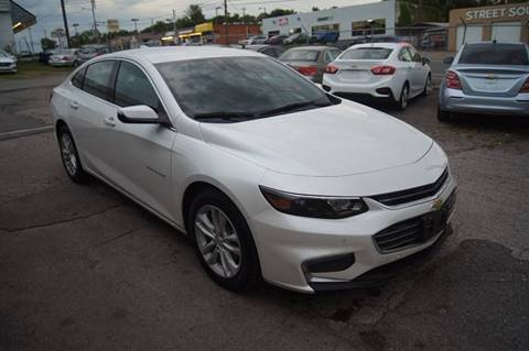 2017 Chevrolet Malibu for sale at Green Ride Inc in Nashville TN