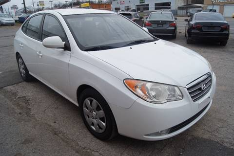 2008 Hyundai Elantra for sale at Green Ride Inc in Nashville TN