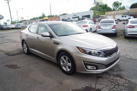 2015 Kia Optima for sale at Green Ride Inc in Nashville TN