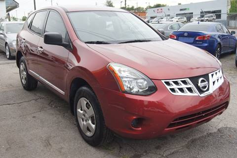 2014 Nissan Rogue Select for sale at Green Ride Inc in Nashville TN