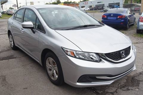 2014 Honda Civic for sale at Green Ride Inc in Nashville TN