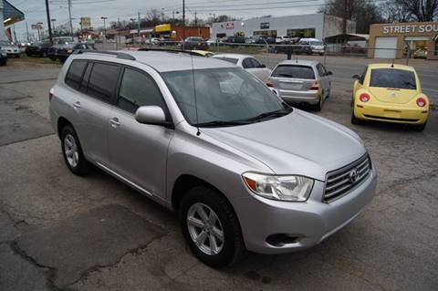 2008 Toyota Highlander for sale at Green Ride Inc in Nashville TN