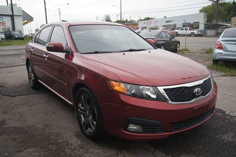 2010 Kia Optima for sale at Green Ride Inc in Nashville TN