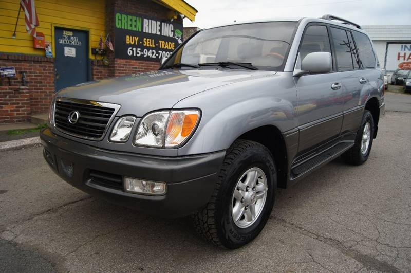 2001 Lexus LX 470 for sale at Green Ride Inc in Nashville TN