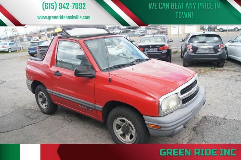 2003 Chevrolet Tracker For Sale In Nashville Tn