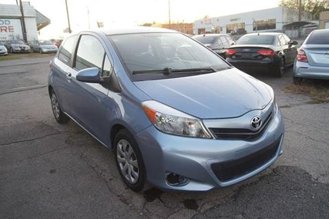 2014 Toyota Yaris for sale at Green Ride Inc in Nashville TN