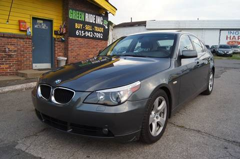 2005 BMW 5 Series for sale at Green Ride Inc in Nashville TN