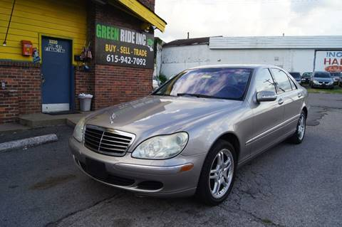 2004 Mercedes-Benz S-Class for sale at Green Ride Inc in Nashville TN