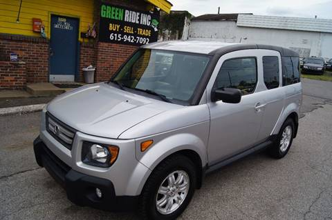 2008 Honda Element for sale at Green Ride Inc in Nashville TN