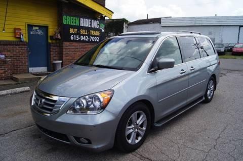 2009 Honda Odyssey for sale at Green Ride Inc in Nashville TN