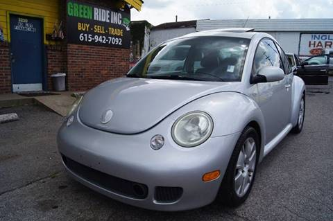 2003 Volkswagen New Beetle for sale at Green Ride Inc in Nashville TN