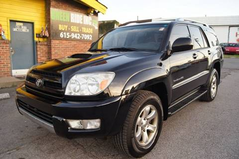 2005 Toyota 4Runner for sale at Green Ride Inc in Nashville TN
