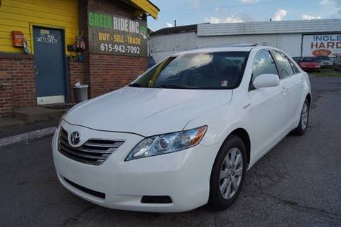2009 Toyota Camry Hybrid for sale at Green Ride Inc in Nashville TN
