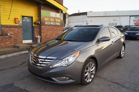 2013 Hyundai Sonata for sale at Green Ride Inc in Nashville TN