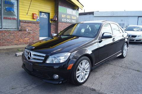 2009 Mercedes-Benz C-Class for sale at Green Ride Inc in Nashville TN