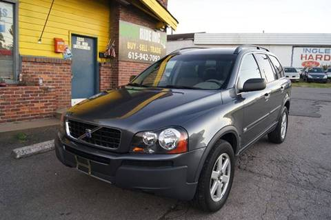 2005 Volvo XC90 for sale at Green Ride Inc in Nashville TN