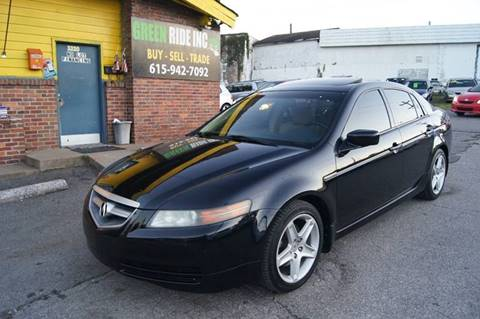 2006 Acura TL for sale at Green Ride Inc in Nashville TN