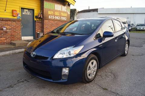 2011 Toyota Prius for sale at Green Ride Inc in Nashville TN